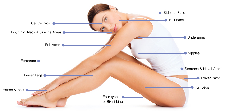Laser hair removal areas for women therapieclinic treatment areas for women solutioingenieria Choice Image