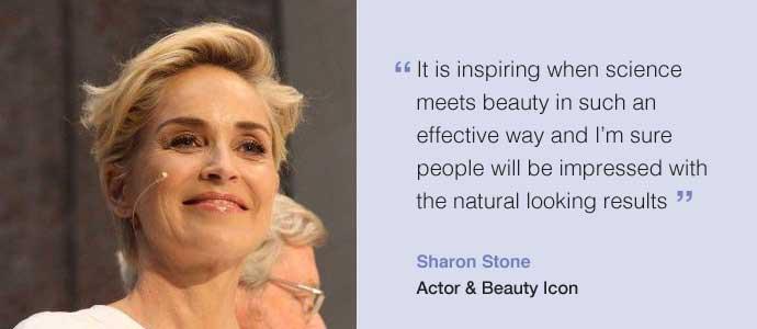 Sharon Stone reveals her Restylane secret