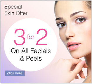 Skin Sale 3for2 facials and peels