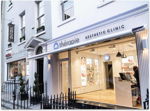 Outside image of Thérapie Clinic South William Street, Dublin 2
