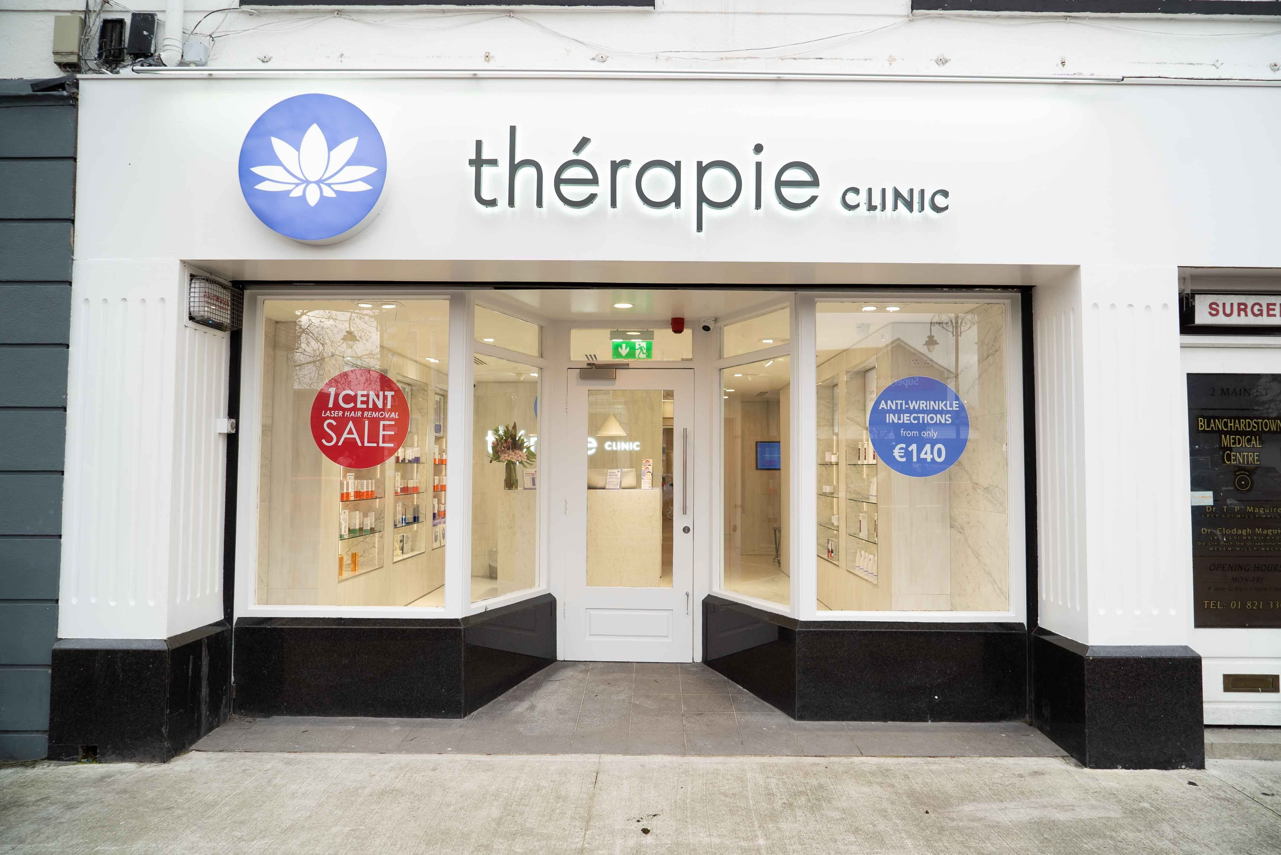 Exterior image of Thérapie Clinic Blanchardstown Village