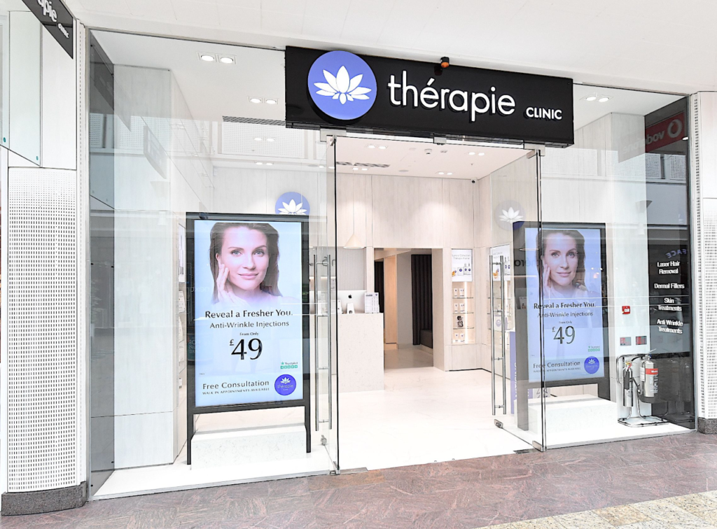 Thérapie Clinic Brent Cross front of the shop [image]