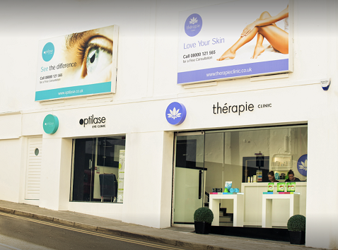 Exterior of Thérapie Clinic Derry / Londonderry [image]