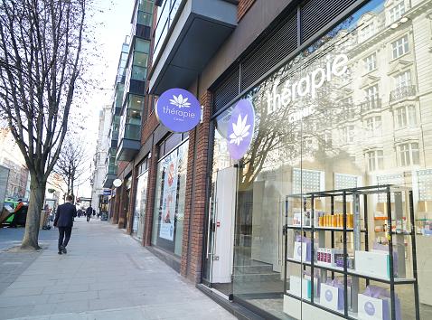 Exterior of Thérapie Clinic Marylebone London [image]