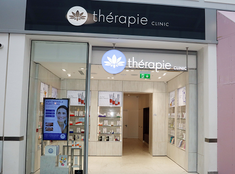 Exterior of Thérapie Clinic The Crescent Shopping Centre, Limerick [image]