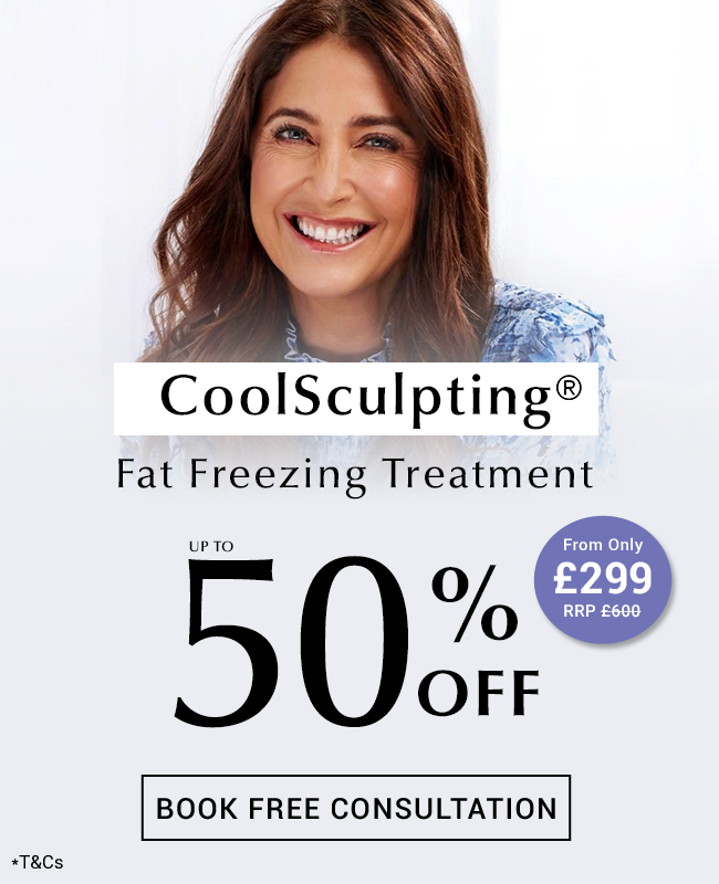 CoolSculpting® at Thérapie Clinic from only £299 offer [image]