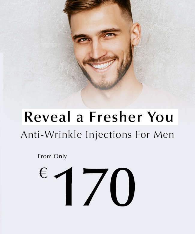 Anti-wrinkle injections for men at Thérapie clinic