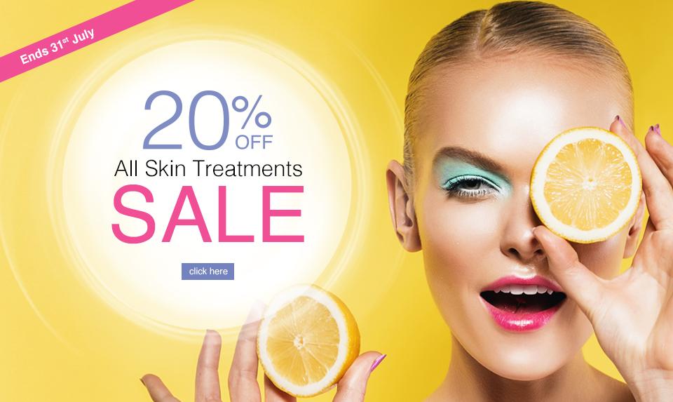 Skin Treatment Sale