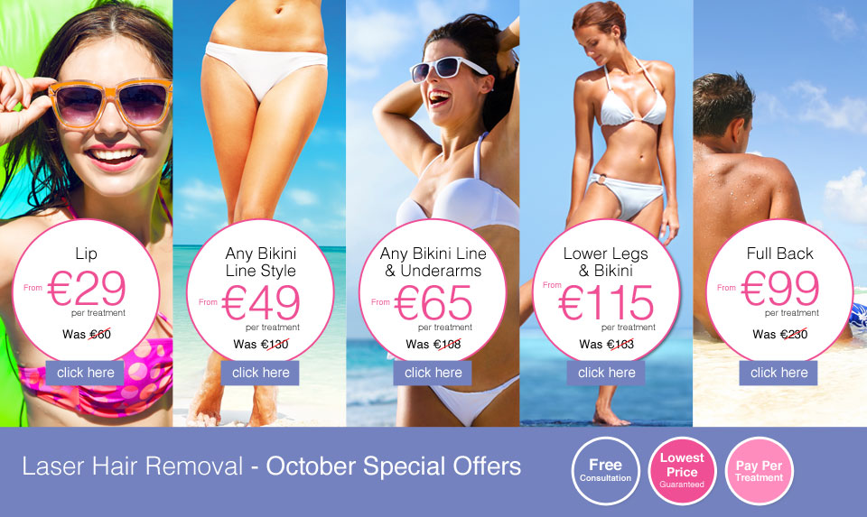 October Laser Hair Removal Offers
