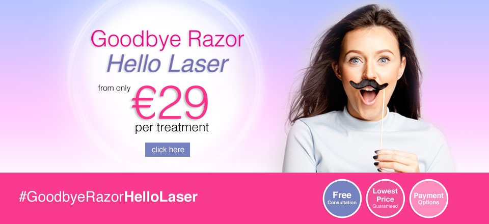 January Laser Hair Removal Offer