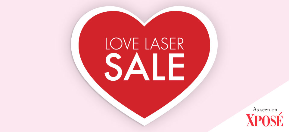Love Laser February SALE Offers